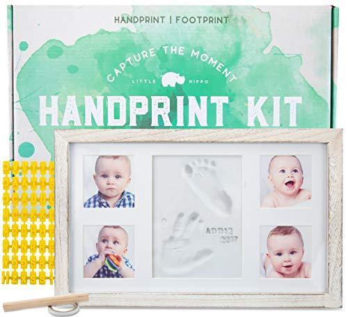 Baby Hand and Foot Print Kits-Baby handprint kit by little hippo