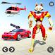 猫ロボット車ゲーム-車ロボット変換 - Androidアプリ