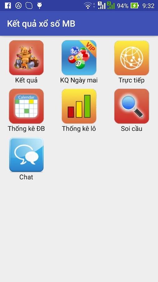 ứng dụng app kết quả xổ số miền bắc
