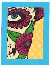 Photo: Mail Art 365 Day 17 card 17c
