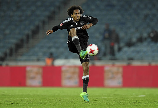 Orlando Pirates' Issa Sarr.