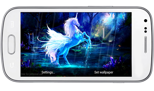 Magic Unicorns LiveaWallpaper