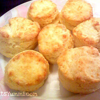 Buttermilk Cornmeal Biscuits with Honey Butter