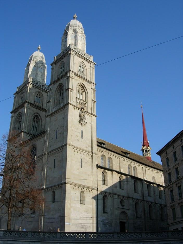 Cathédrale Grossmünster à Zürich