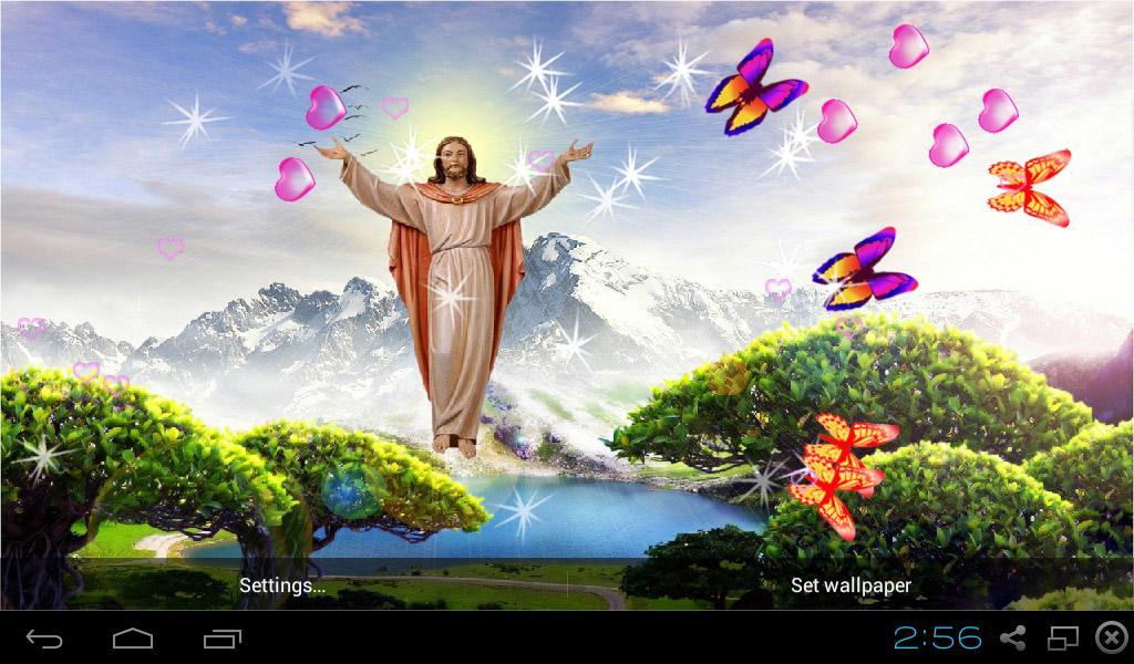 3d Jesus Wallpapers Hd Czarny Mazak