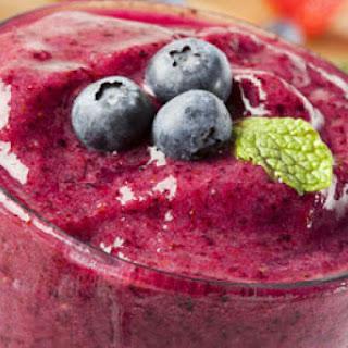 Excellent Watermelon-Berry Breakfast Smoothie