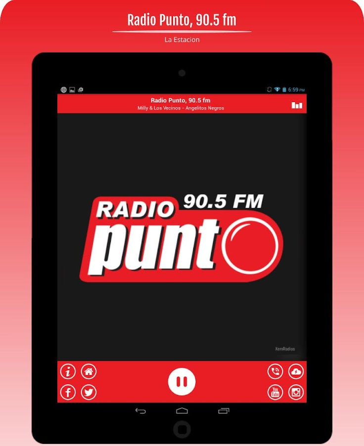 Radio Punto 90.5 fm- screenshot