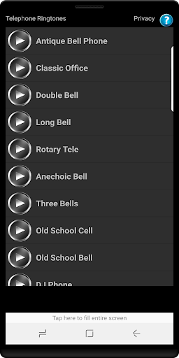 Telephone Ringtones Screenshot