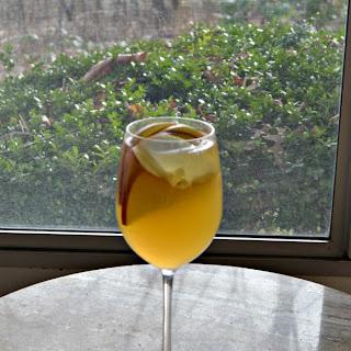 White Apple Pear Sangria.