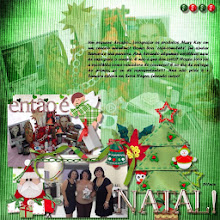 Photo: Sweet Christmas by ScrapDesafios Tender Alpha by Aja Abney Font Forte PS CS5