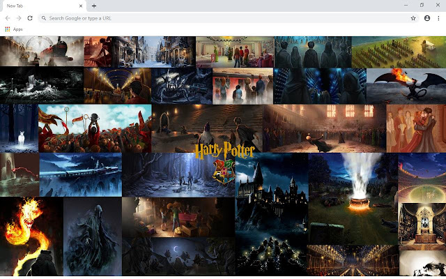 Harry Potter Wallpapers and New Tab