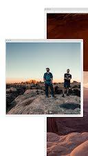 Sunset Window - Photo Collage item