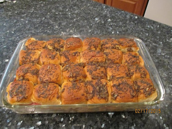 Bake in the preheated oven until the rolls are lightly browned and the cheese...