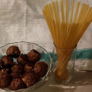 Venison Italian Meatballs