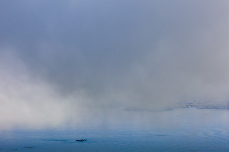 Photo: Clouds on a foggy day. Here's my attempt at minimalism for #minimalmonday by +Olivier Du Tré.