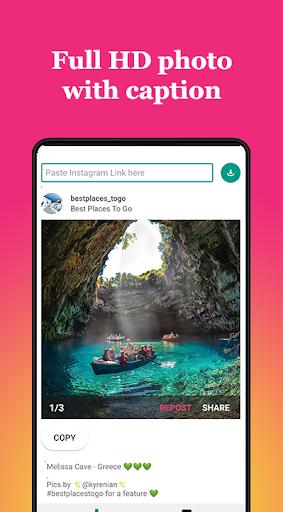 Repost for Instagram 2019 - Insta Save Video Photo 2.3.2 screenshots 2