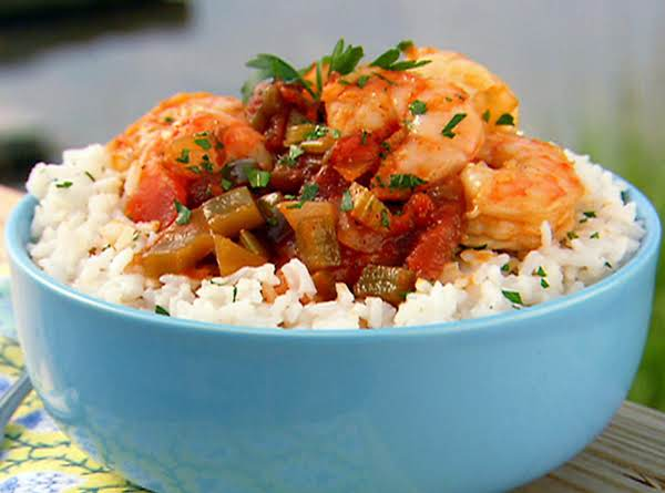 Aprie's Spicy Creole Shrimp Bowl Recipe