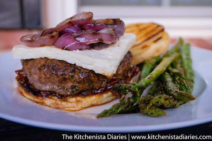 Mediterranean Lamb Burgers with Spiced Tomato Jam Recipe | Yummly