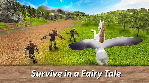 ud83eudd84ud83cudf08u2764ufe0f Pegasus Simulator: Flying ud83dudc0e Horse Survival 1.1 screenshots 9