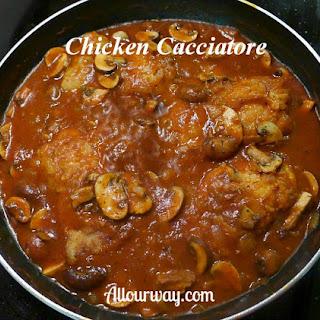 Chicken Cacciatore {Pollo alla Cacciatora}.