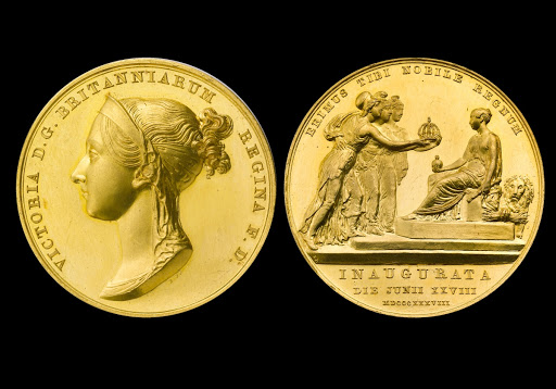 Coronation Medal of Queen Victoria