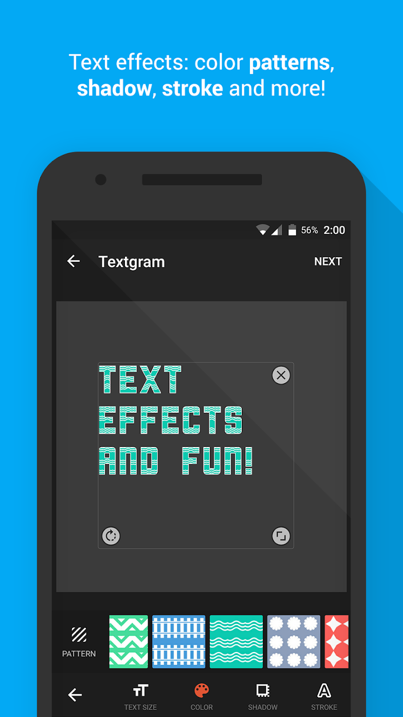 Textgram - write on photos Screenshot 4