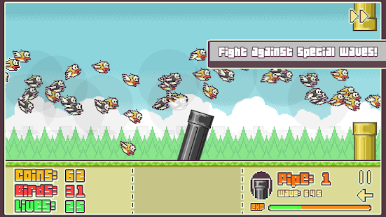 Flappy Defense- screenshot thumbnail