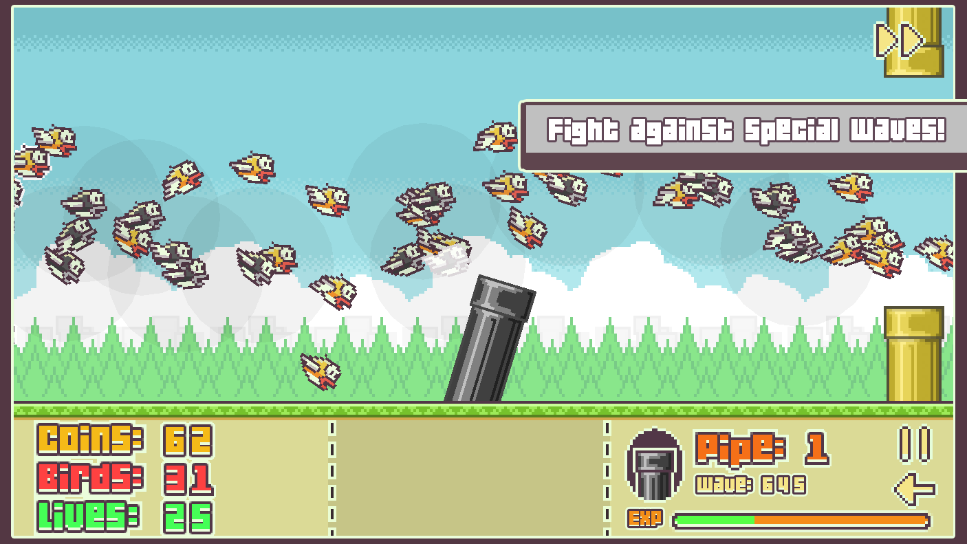 Flappy Defense- screenshot