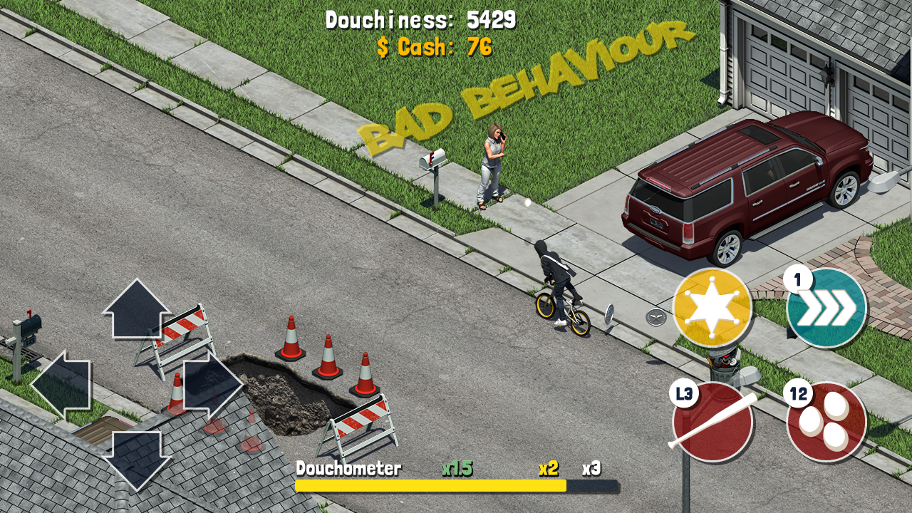Douchebag the Game- screenshot