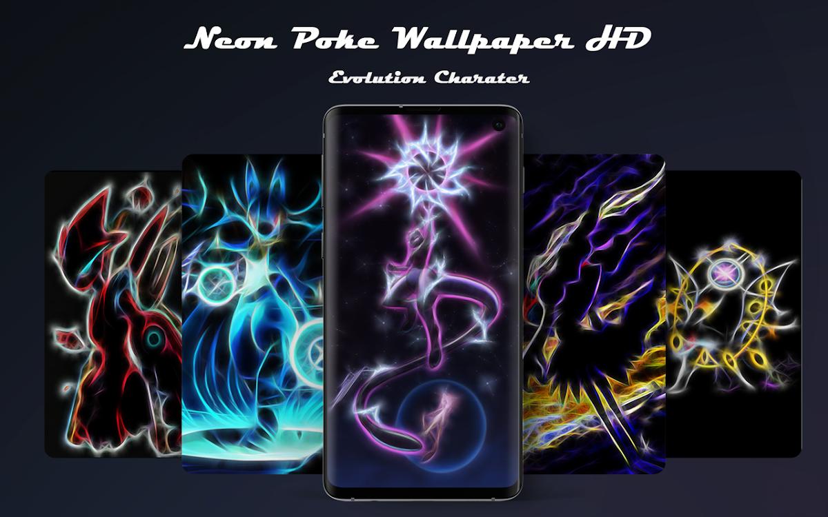 Neon Poke Wallpaper Hd Android Aplicaciones Appagg