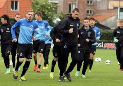 Bruges contre le CSKA Sofia en amical