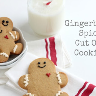Gingerbread Spice Cut Out Cookies