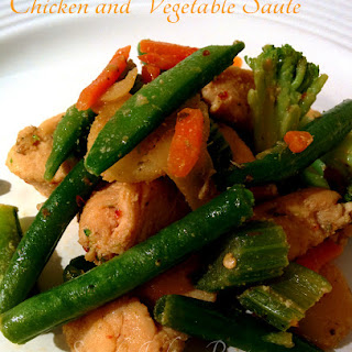 Chicken And Vegetable Saute