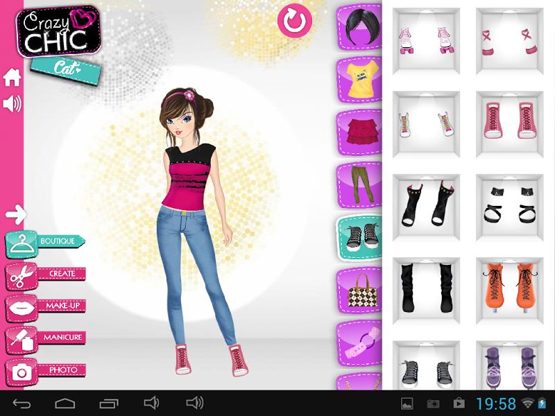 Скриншот CrazyChic