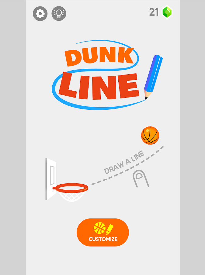 Dunk-Linie android apps download
