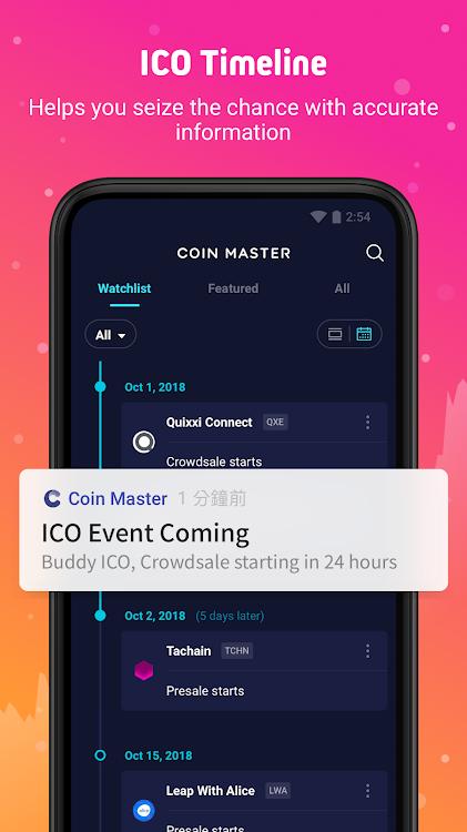 Coin Master - Bitcoin, ETH, ICO & Binance sync – (Android