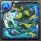 波遊びの天鬼姫・風神の水着