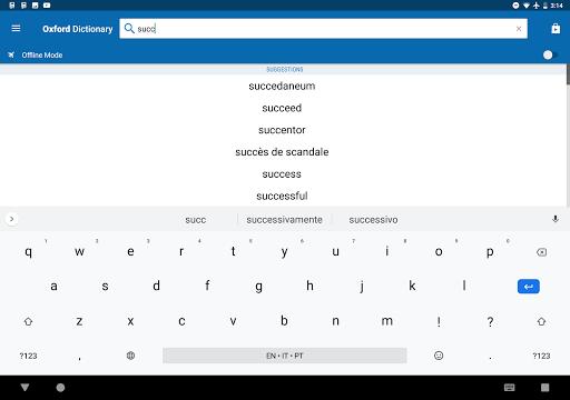 Oxford English Urdu Dictionary screenshot 17