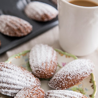 Hot Cocoa Madeleines