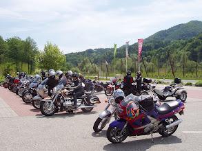 Photo: Ankunft am R69  Jahrestreffpunkt der Biker