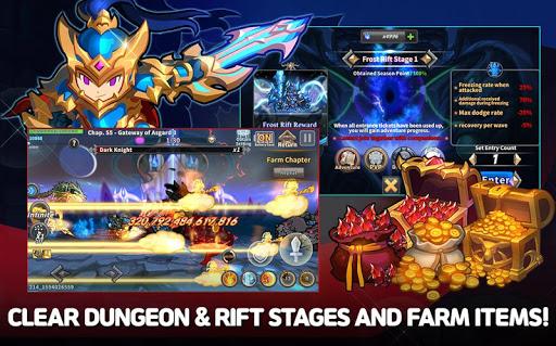 Raid the Dungeon : Idle RPG Heroes AFK or Tap Tap 1.5.3 screenshots 10