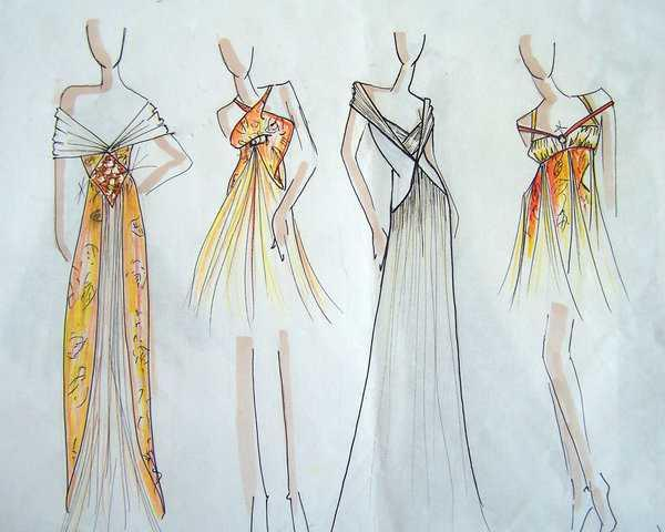 fashion design sketches screenshot - Fashion Design Ideas