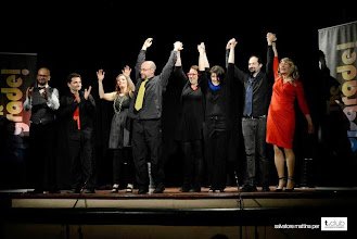Photo: Curtain Call for The Upgrade @ Tiberio Theatre  http://www.storie.rn.it/?event=upgrade