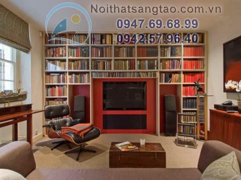 thiết kế phòng đọc sách cao cấp