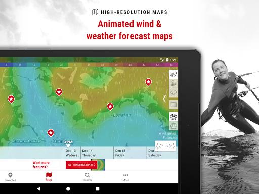 Windfinder - weather & wind forecast 3.15.0 screenshots 6