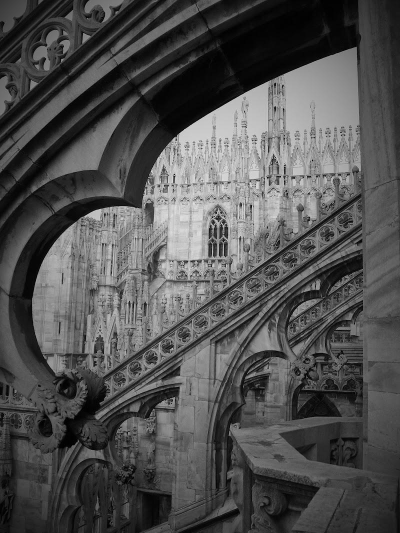 Tra le guglie del Duomo, Milano di AlessandraPaci