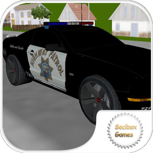 模擬App|超级警车停车 LOGO-3C達人阿輝的APP