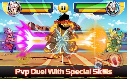Stickman Fight : Dragon Legends Battle 10