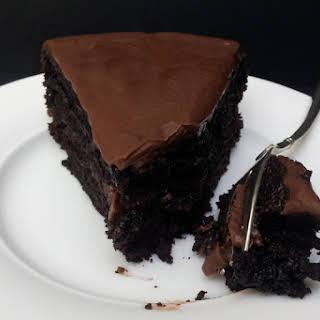 Chocolate Courgette Cake [vegan].