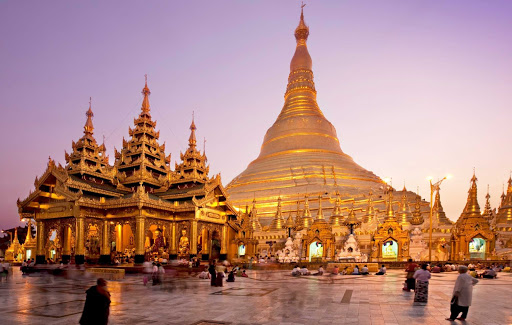 pagoda-1.jpg - Historians and archaeologists say the Great Dagon Pagoda was built between the 6th and 10th centuries A.D. However, legend says it was constructed more than 2,600 years ago,